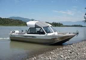 fraser river sturgeon fishing boat